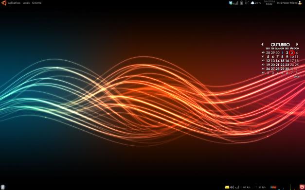 Meu desktop